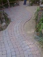 Укладка тротуарной плитки, брусчатки