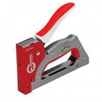Степлер профессиональный INTERTOOL 3 в 1, под скобу 11,3x0,7. 4-14 мм, гвоздь 16 мм, шпилька 16 мм (стальной