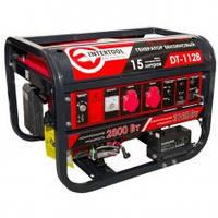 Генератор бензиновый INTERTOOL 3,1 кВт.- 2,8 кВт., 6,5 л.с., 4-х тактный, электрический, ручной пуск