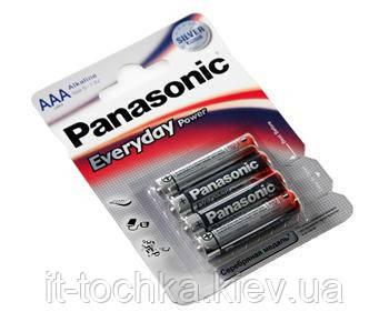 Батарейка panasonic everyday power aaa bli 4 alkaline