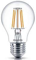 Светодиодная декоративная лампа philips led fila nd e27 4.3-50w 2700k 230v a60 1ct (929001180407)