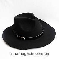 Шляпа ковбойка черная