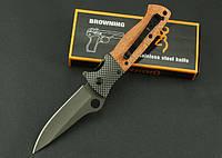 Нож туристический складной тактический Browning DA45