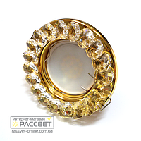 Встраиваемый точечный светильник SP-CR010-4141 (золото), фото 1