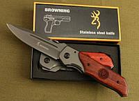 Нож туристический складной тактический Browning DA30 с клипсой