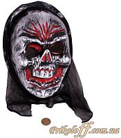 Маска страшилка «Злой череп»