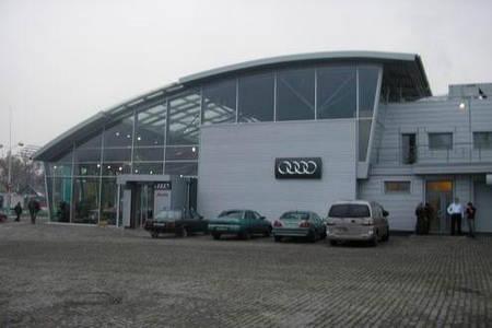Мебель и интерьер для автосалона AUDI AG