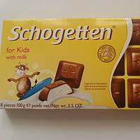 Шоколад Молочный Для детей Schogetten Шогеттен 100г.