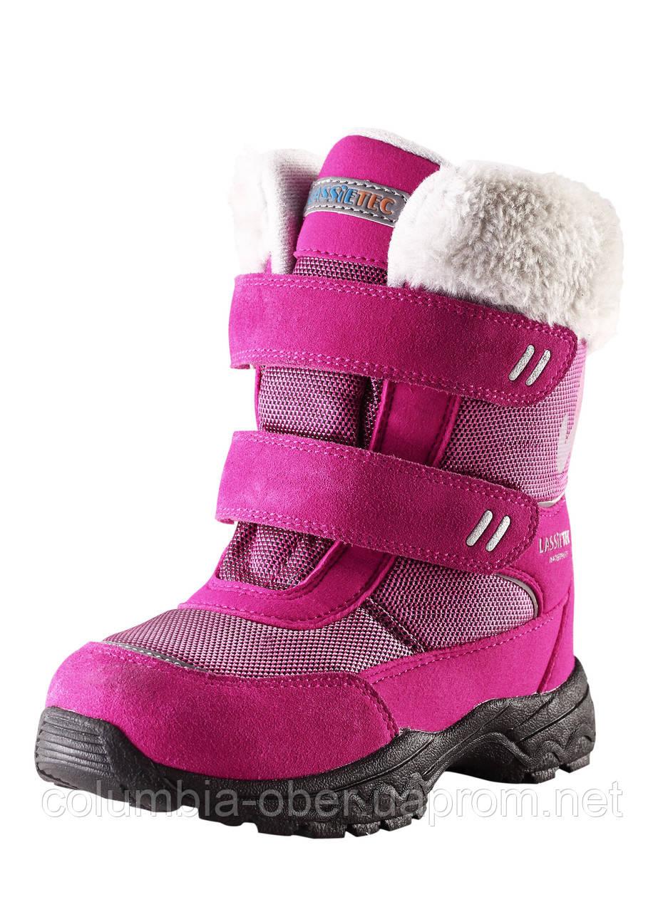 Зимние сапоги для девочки Lassietec 769098 - 3380. Размеры 31- 35.