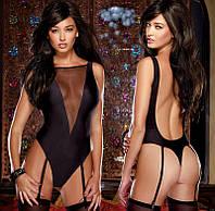 Боди с открытой спинкой / Эротическое белье / Сексуальное белье , фото 1