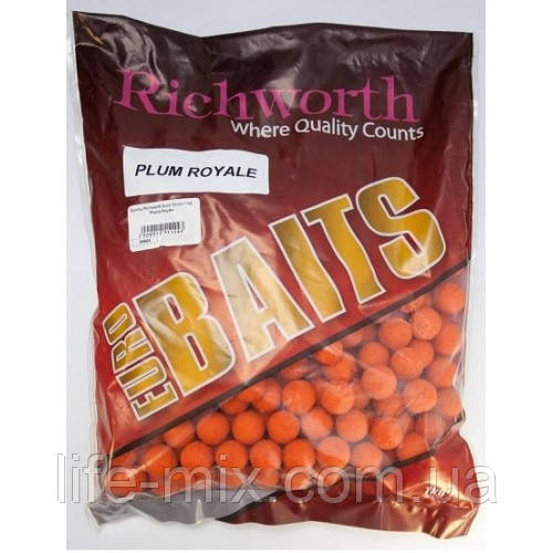 Бойли Richworth euro boilies 'MAPLESEED'-клен 18mm, 1kg