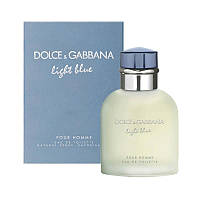 Туалетная вода для мужчин Dolce & Gabbana Light Blue Pour Homme (Дольче Габбана Лайт Блю Пур Хом), фото 1