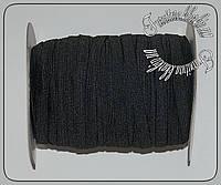 Резинка 1см черная 100м.