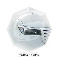 Реснички на фары Toyota BB 2005+ г.в. Тойота ББ