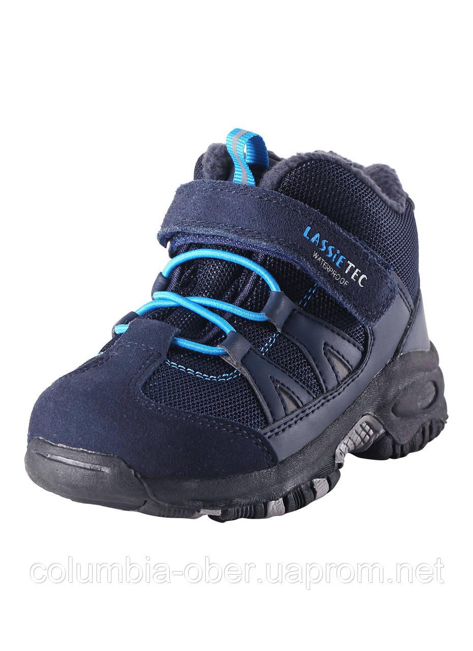 Детские демисезонные ботинки для мальчика LassieТес 769096-6990. Размер 22 - 33.
