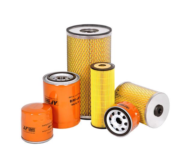 Фильтры воздушные, топливные, масляные к строительной, с/х и автотракторной технике.