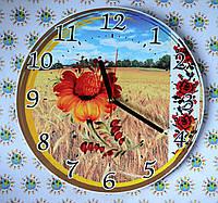 Часы настенные Поле