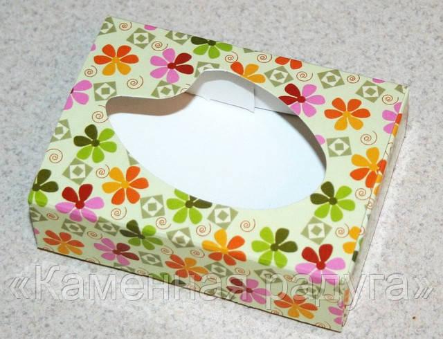"""Коробка """"Цветы"""" (прямоугольная)"""
