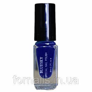 Лак для стемпинга Bluesky 027 синий 6 мл