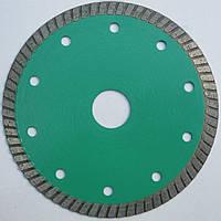 Алмазный, тонкий диск, для резки гранита, керамической плитки 125x1,1x8,5x22,2 чистый рез без сколов