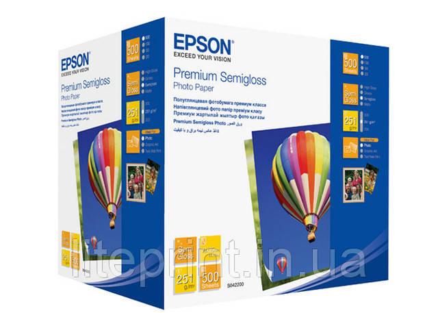 Фотобумага Premium Semigloss Photo Paper 10x15, 500 листов.