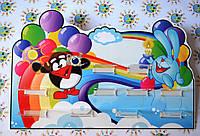 Подставка для поделок Смешарики на радуге
