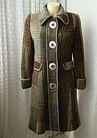 Пальто теплое шерстяное Next р.44 7105а