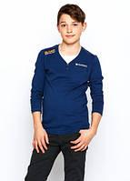 Школьная рубашка для мальчика р.134-164 (арт. 9726 т.сер)