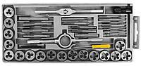 Набор плашек и метчиков 40шт (кейс) Sigma