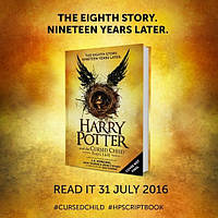 Harry Potter 8 Cursed Child, Parts 1&2 [Hardcover] (твёрдый переплёт).