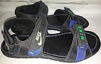 Сандалии-шлеп мужские кожаные р40 NIKE 001