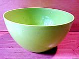 Салатница круглая 1 л, пищевой пластик., фото 2