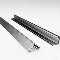 Профиль фланцевый (шинорейка) S20 Нержавеющая сталь 201ВА зеркало