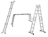 Лестница многоцелевая 4 секции по 4 ступеньки Sigma 5120441
