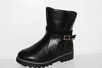 Зимняя обувь.Зимние ботинки для девочек оптом от фирмы Y.TOP D7863-6 (8пар, 31-36)