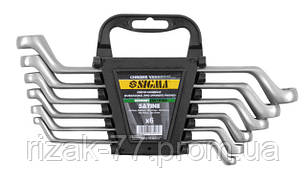 Ключи накидные 12шт 6-32мм CrV satine (тк. чехол) Sigma