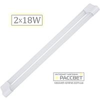 Светодиодный LED светильник (балка) Feron AL5012 2x18W (замена люминесцентным светильникам ЛПО Т8) 121см