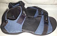 Сандалии-шлеп мужские кожаные р41-44 NIKE 003