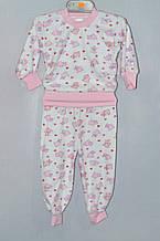 Детская пижама для девочки Велюр Байка 7-9 лет