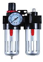 Блок подготовки воздуха SIGMA (фильтр, редуктор, манометр, маслообогатитель ) Sigma