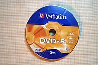 Диск DVD-R Verbatim 4,7 Gb 16x для однократной записи