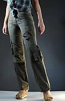 Штаны женские джинсовые