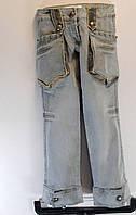 Серые подростковые штаны