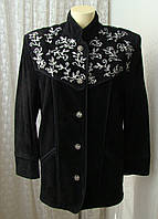 Куртка кожа натуральная вышивка Dino'z р.44 7107