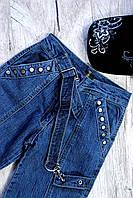 Штаны джинсовые подростковые