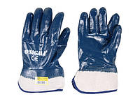 """Перчатки трикотажные с полным """"нитриловым"""" покрытием (расклешенные МБС) Sigma"""