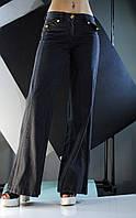 Штаны чёрные джинсовые