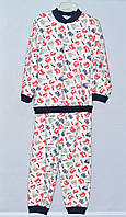 Детская пижама для мальчика Трикотаж Байка 8-10 лет