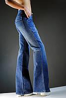 Синие женские штаны, джинса