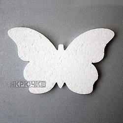 Резная заготовка из пенопласта Бабочка